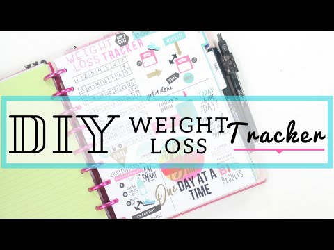 diy-weight-loss-tracker-🏃♀️〰️-in-depth-how-to-|-fitness-planner|-at-home-with-quita