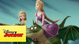 Sou uma princesa: Tem que ousar e se arriscar- Princesinha Sofia e Rapunzel