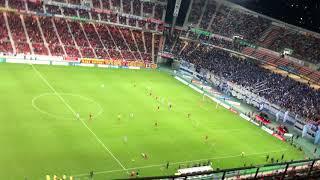 名古屋グランパスのJ1昇格が決まった試合のラスト3分です 歴史的瞬間.