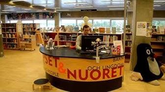 Kesätyöharjoittelu Oulun kaupungin kirjastossa