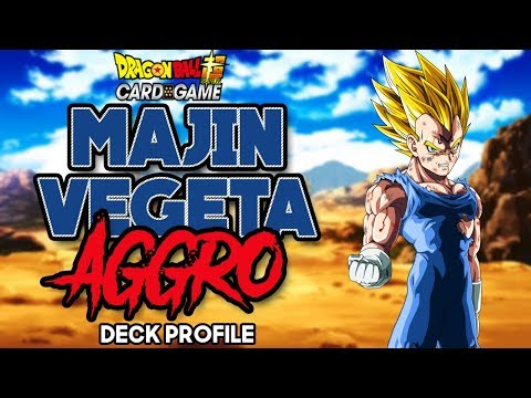 (DBS) DRAGON BALL SUPER TCG - MAJIN VEGETA DECK PROFILE R/B