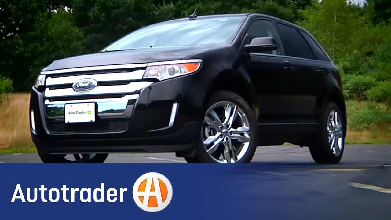 2013 ford edge suv new car review autotrader youtube. Black Bedroom Furniture Sets. Home Design Ideas