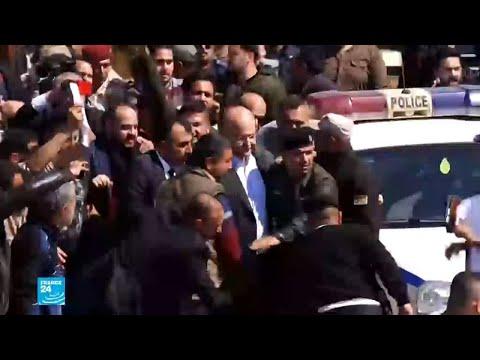 الرئيس العراقي برهم صالح في الموصل بعد غرق عبارة في نهر دجلة  - نشر قبل 1 ساعة