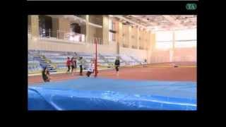 Легкоатлетический манеж в Тюмени
