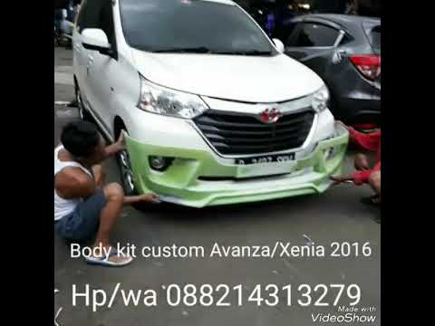 bodykit grand new avanza 2016 g hitam xenia body kit custom hp wa 088214313279 youtube