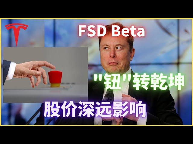 吐槽崩溃的FSD Beta按钮,如何满分?老马又在下大棋