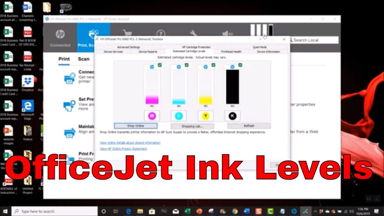 Two Ways To Check Your Ink Levels On Your Hp Officejet Pro