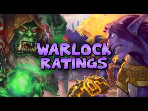 RASTAKHAN'S ⭐ RATINGS - WARLOCK | Hearthstone