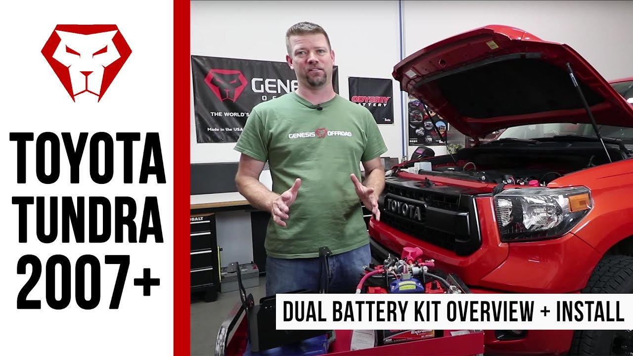 Toyota Tundra 2007 Dual Battery Kit Overview And Installation 01 Sequoia Fuse Box Instructions