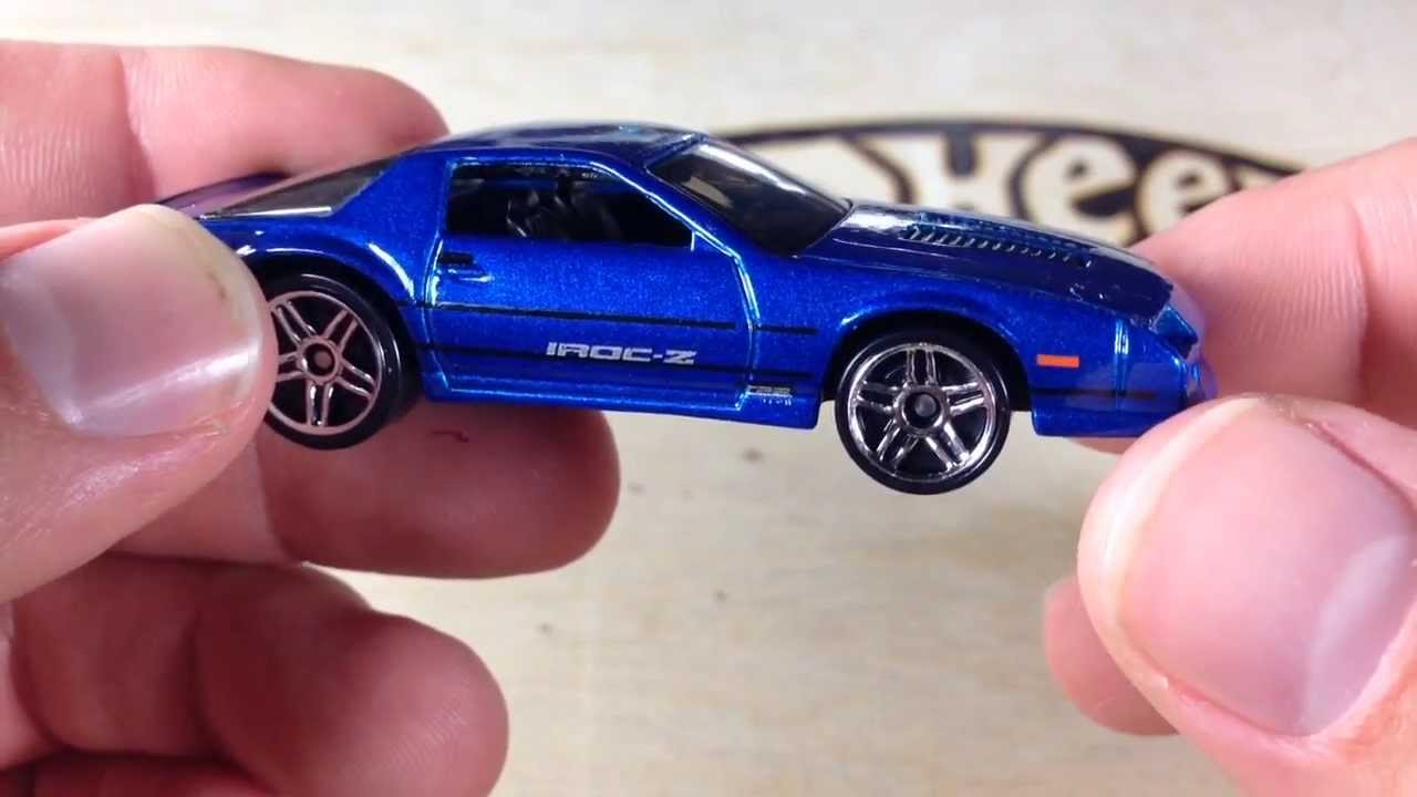 Hot Wheels Multi Pack Exclusive Blue 1985 Camaro Iroc Z -8219