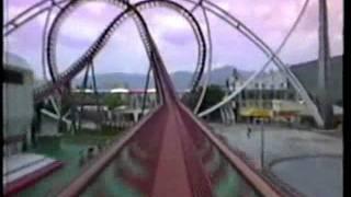Moonsault Scramble Roller Coaster Front Seat POV Fuji-Q Highland Japan