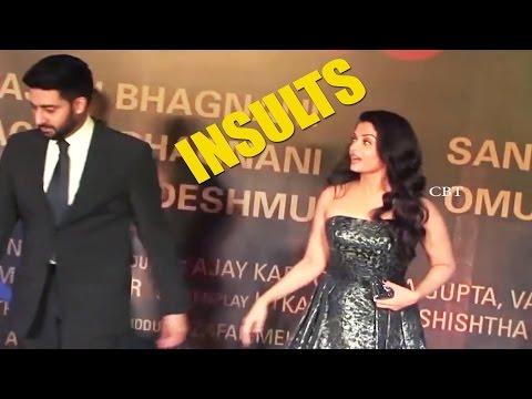 Abhishek Bachchan Insults Aishwarya Rai IN Public | Sarbjit premiere | Red Carpet - Chai Biscuit