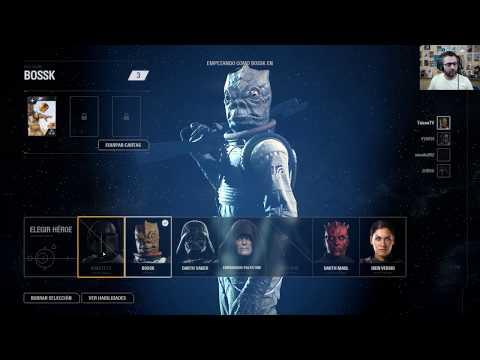 Star Wars Battlefront II Bossk Manda en Heroes y Villanos