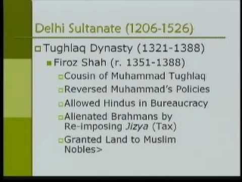 Asian Civilization-PartS10-Muslim Rule in India (700 - 1526 AD)