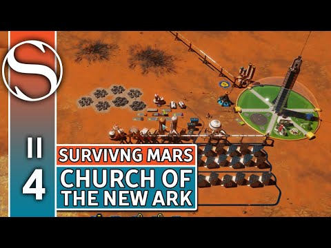 #4 Machine Parts Factory - Surviving Mars - Surviving Mars Gameplay