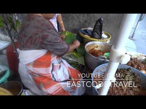 Yogyakarta style food stall Indonesian street food