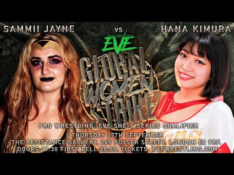 Remembering Hana Kimura – Hana Kimura vs Sammii Jayne – EVE