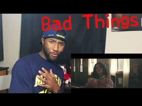 Machine Gun Kelly, Camila Cabello - Bad Things ( Official Video ) Reaction!!