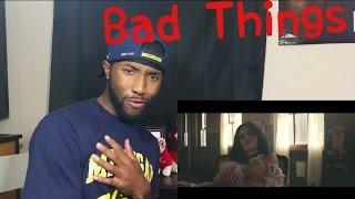Machine Gun Kelly, Camila Cabello - Bad Things ( Official Video ) Reaction!!