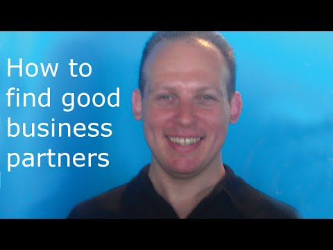 How To Find Business Partners And Start-up Co founders