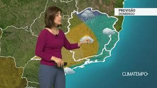 Previsão Sudeste – Pouca chuva e temperaturas amenas