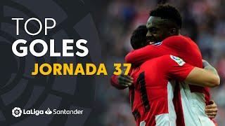 Todos los goles de la Jornada 37 de LaLiga Santander 2018/2019