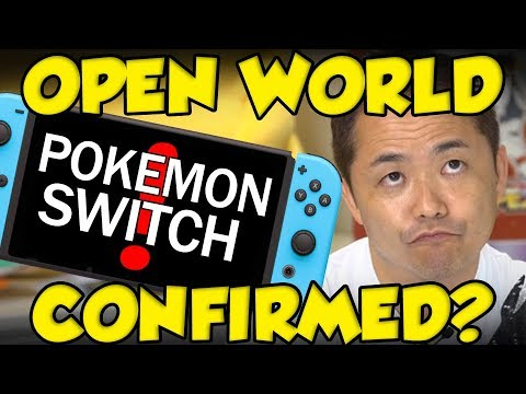 Pokémon Switch - Open World Pokemon Already Confirmed?
