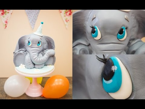 Baby Elephant Cake Preview Paul Bradford Sugarcraft