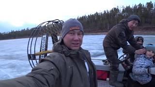 Два часа рыбалки после работы Вечерний клев на Братском водохранилище Змеиный залив Окунь вечером