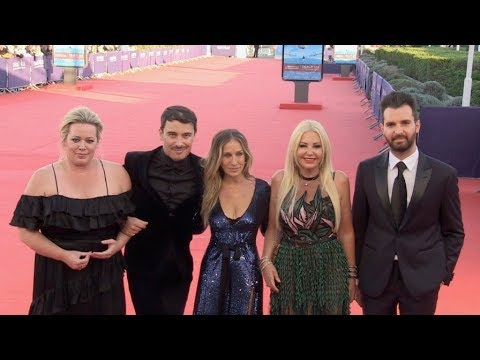 Sarah Jessica Parker and rest of the cast for Here and now red carpet during the 2018 Deauville film Mp3