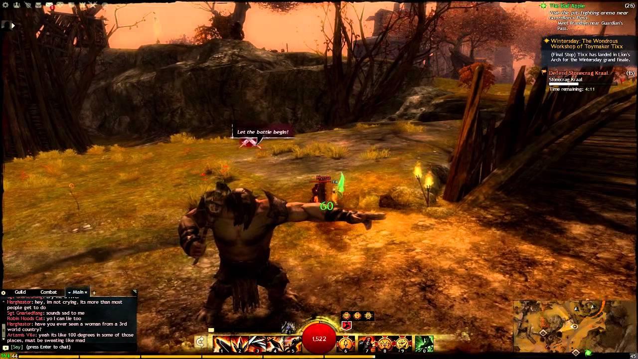 Guild Wars 2 Plains Of Ashford Questspoints Of Interest 2 Youtube