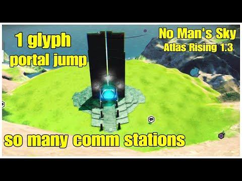 1 Glyph Portal Jump No Man's Sky