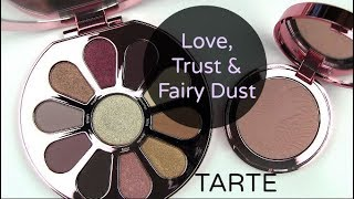 Video TARTE Love, Trust & Fairy Dust Collection: Live Swatches & Review download MP3, 3GP, MP4, WEBM, AVI, FLV Juli 2018