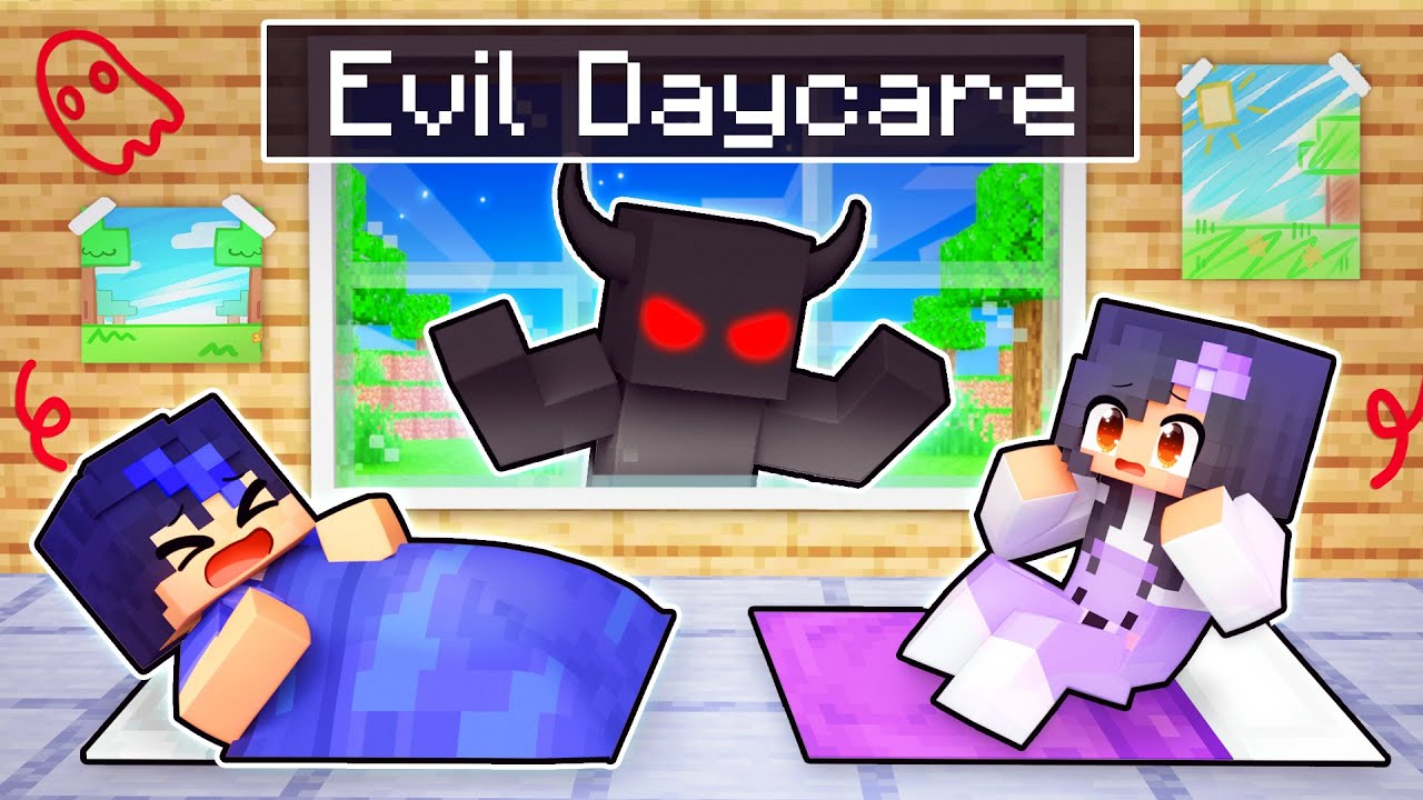 Download 5 NIGHTS at a Evil DAYCARE In Minecraft!
