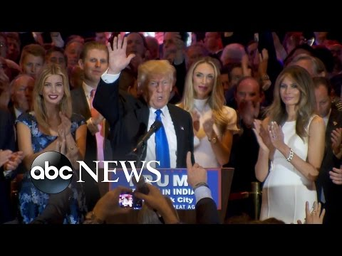 Donald Trump FULL SPEECH After Indiana Primary Victory