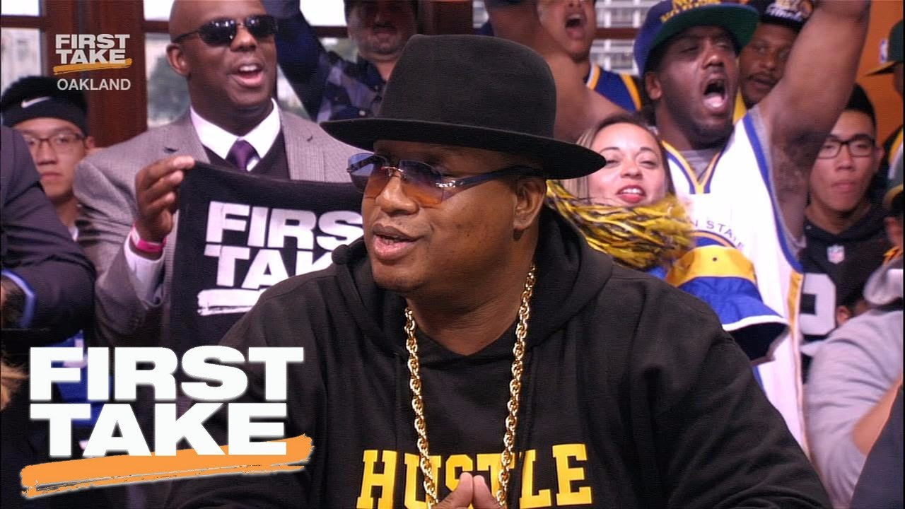 Rer E 40 Chooses His Golden State Warriors First Take June 1 2017