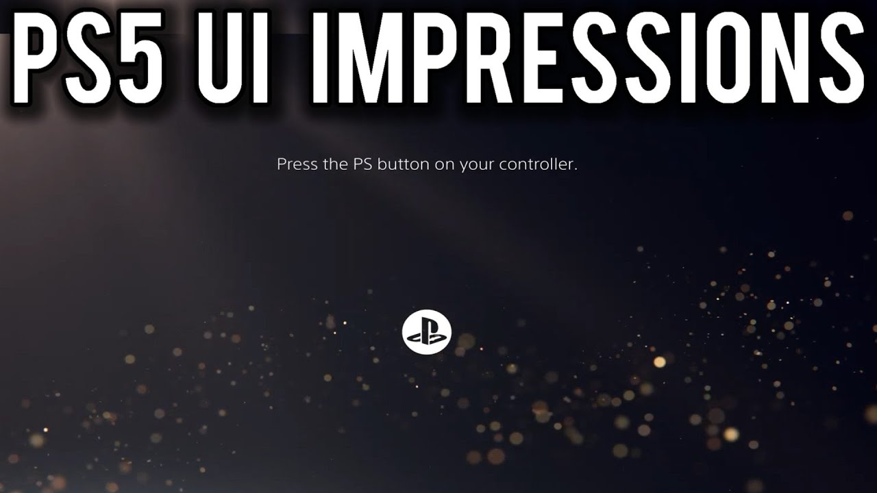 We need to talk about that Sony PlayStation PS5 UI | MVG