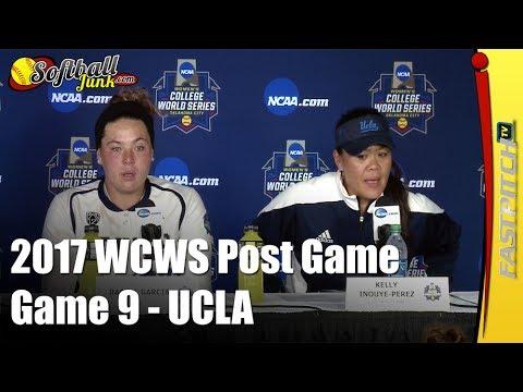 UCLA - 2017 WCWS D1 NCAA Softball | Post Game 9