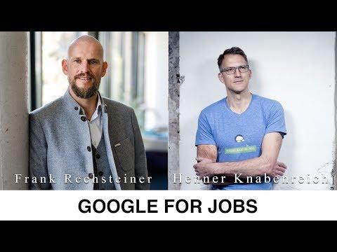 Recruiting Tipp: Google for jobs Deutschland
