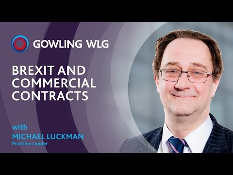 Brexit and commercial contracts