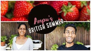 British Summer Gardening | Meet My Tamil Parents தமிழ்