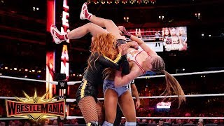 Becky Lynch and Charlotte Flair join forces to brutally punish Ronda Rousey: WrestleMania 35
