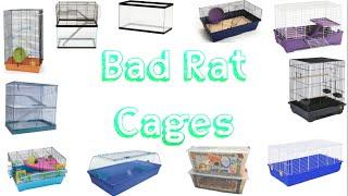 Bad Rat Cages!