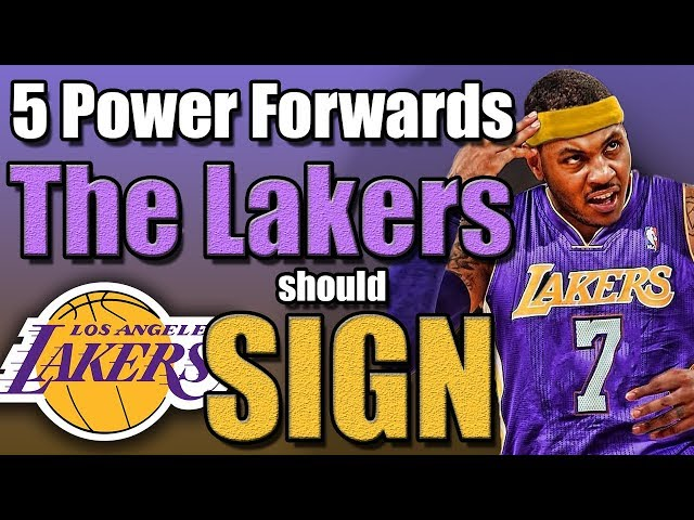 5 Power Forwards The Lakers Should Sign After The Anthony Davis Trade