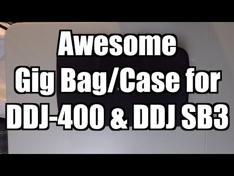 Awesome Gig Bag/Case for the Pioneer DJ DDJ-400 & DDJ SB3