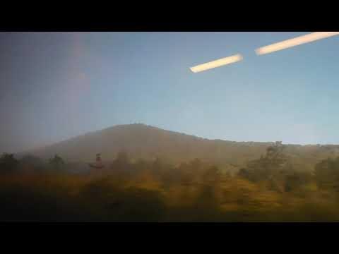 Ласточка Туапсе - Ростов, перегон Долина Очарований-Горячий ключ