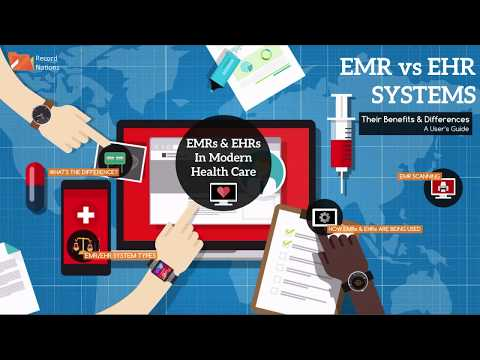 EMR vs EHR Systems: Their Differences, Uses, and Advantages