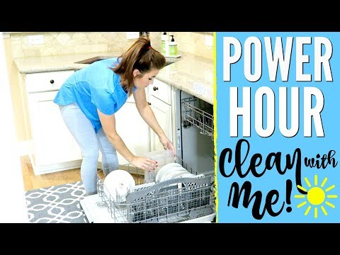 POWER HOUR CLEAN WITH ME w/ talking & music | SPEED CLEANING MOTIVATION SAHM