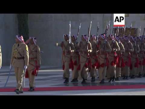 Spanish King meets Jordan King in Amman