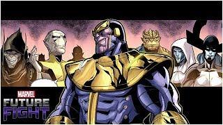 Thanos *DIES* To His Generals?! - Marvel Future Fight